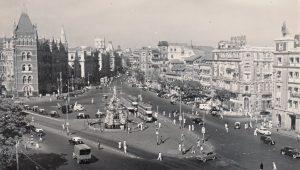 Flora Fountain in Mumbai