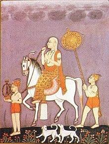 Chhatrapati Shahu Maharaj the son of Sambhaji Maharaj